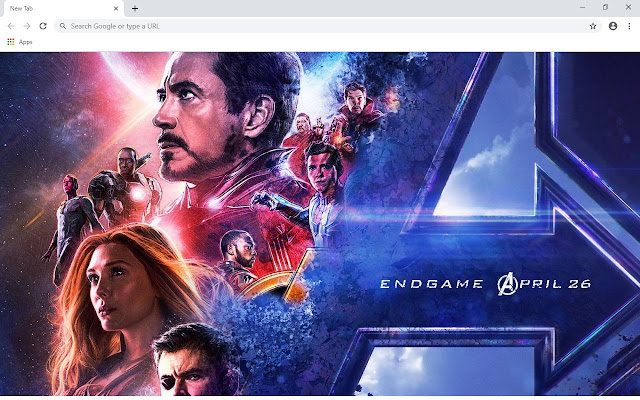 Avengers Endgame Wallpapers and New Tab