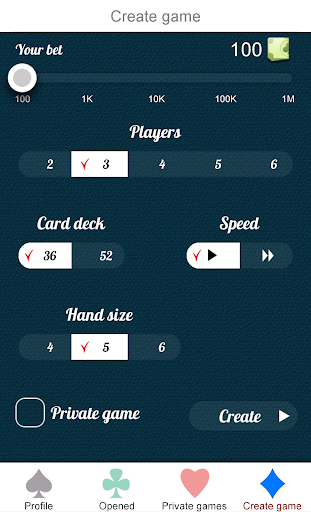Mau Mau Online 1.2.1 screenshots 2