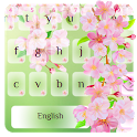 Cherry Blossom Typewriter icon