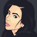 Kim Kardashian Quotes Offline icon
