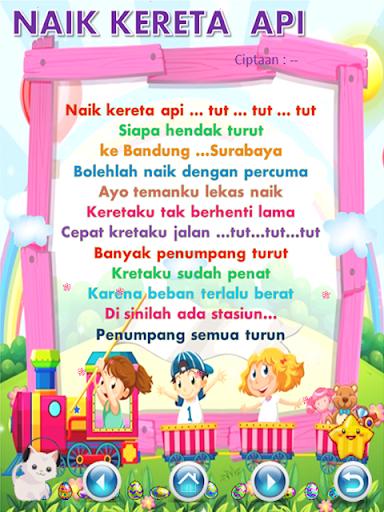 Indonesian Children's Songs  screenshots 5