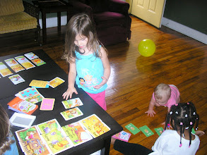 Photo: card play