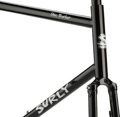 "Surly Disc Trucker 26"" Frameset Bituminous Gray or Hi-Vis Black alternate image 5"