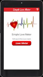 Simple Love Meter screenshot 1