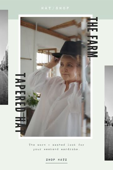 The Farm Tapered Hat - Video Template