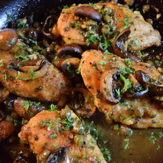 Meat Piccata With Mushroom Recipes.