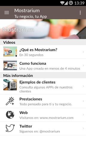 【免費生產應用App】Mostrarium-APP點子