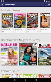 Pocketmags Magazine Newsstand Screenshot 7
