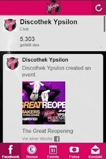 Discothek Ypsilon - náhled