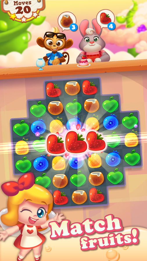 Tasty Treats Blast - A Match 3 Puzzle Games- screenshot