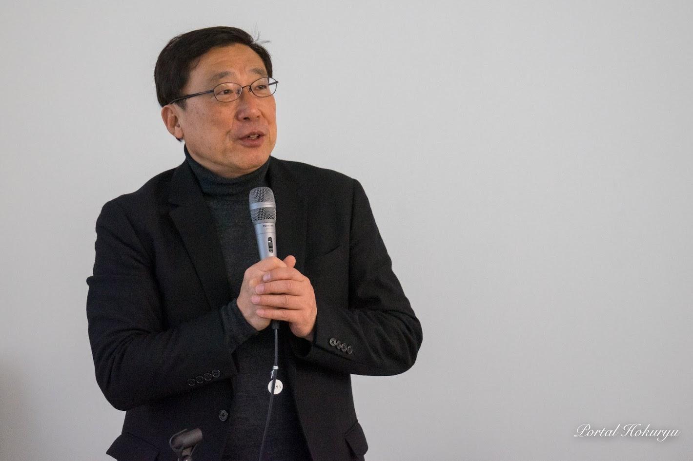 北竜町ひまわり観光大使・鈴木輝隆 氏(立正大学経済学部特任教授)