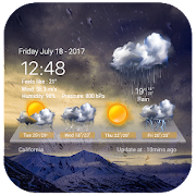 Live weather & widget for android ☔️.