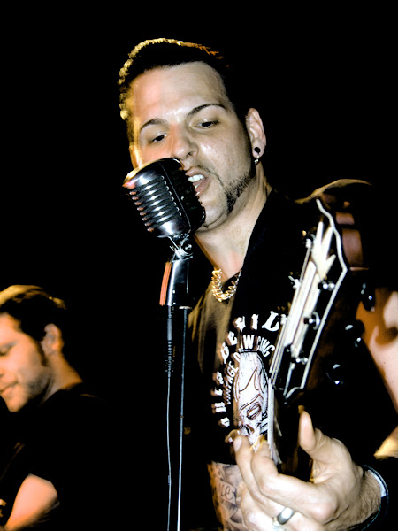 Photo: King Vegas live in concert Robert Schulwitz PhotographyGermany München Munich Rock Charts Band