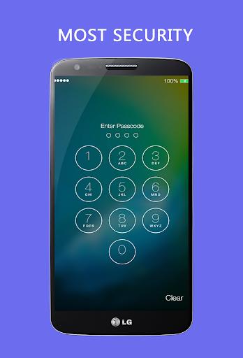 Lock Screen Iphone - OS 9