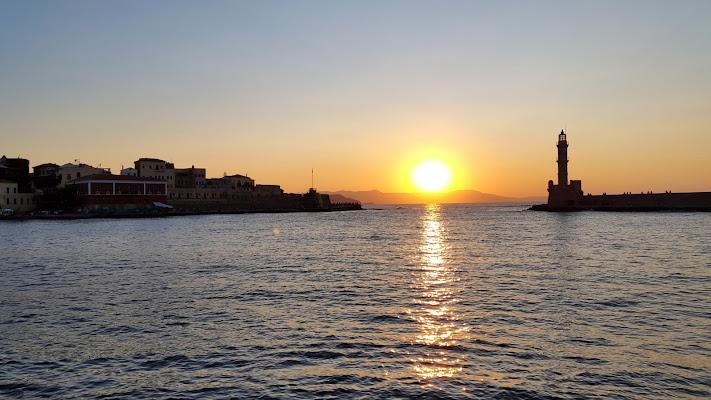 tramonto a Creta di anangi