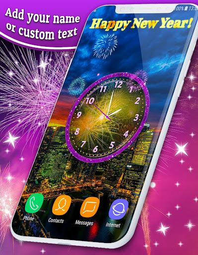Fireworks 2019 New Years Clock 4.8.4 screenshots 3
