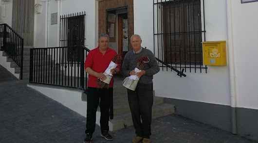 La Alhambra se lleva uva de Bayárcal para las huertas del Generalife