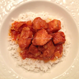 Crock Pot Sweet and Sour Chicken - Four Ingredients