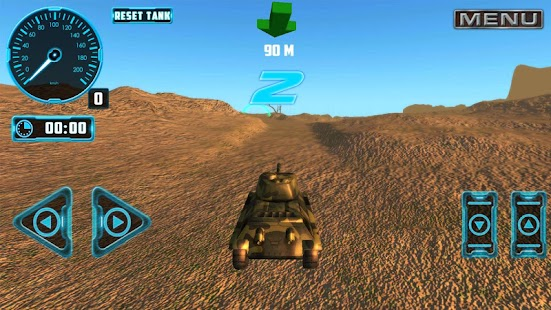 Tank 4x4 Offroad Simulator - náhled