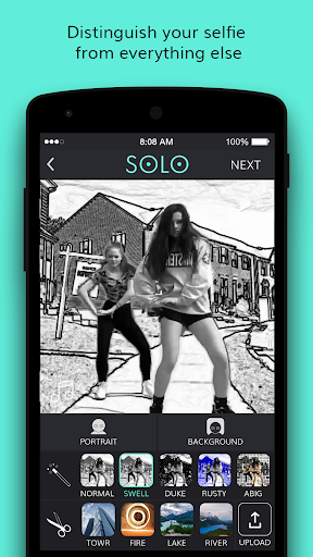 玩免費遊戲APP|下載Solo 自拍 - 带绿屏效果的摄像机和照相机 app不用錢|硬是要APP