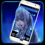 App Blue Night Wolf Theme APK for Windows Phone