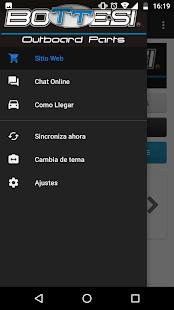 Bottesi App - náhled