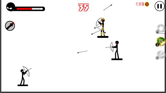 Archer: Stickman Fight - náhled