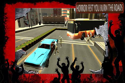 Road Bus Zombie Samsh 3D