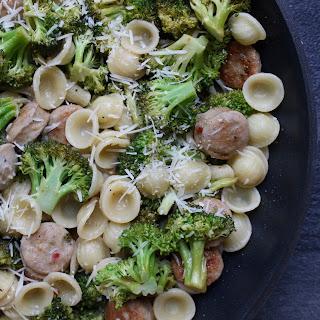 Skillet Orecchiette with Sausage and Broccoli Recipe
