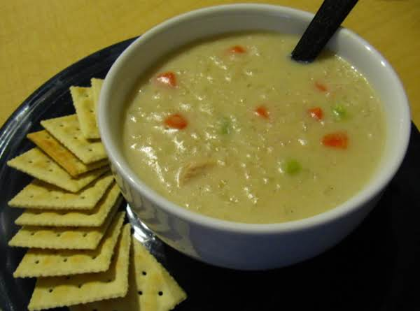 Cream Of Chicken And Rice Soup Recipe