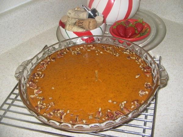 Custard Pumpkin Pie - Crustless Recipe