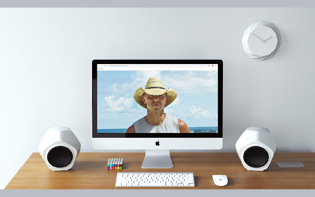 Kenny Chesney New Tab & Wallpapers Collection
