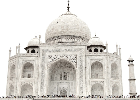 Taj Mahal di donnavventura