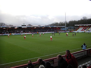 Photo: Stevenage FC - Crawley Town 1-2, (Division One), Broadhall Way, toeschouwers 3.066.