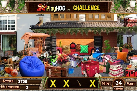 Challenge #210 Villa 69 Free Hidden Objects Games - náhled