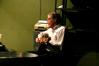 Photo: Peter McHugh rehearses in the theater