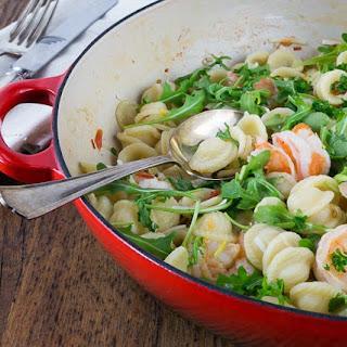 Orecchiette with Shrimp, Fennel and Arugula Recipe