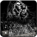 Grim Skull Reaper Keyboard Theme icon