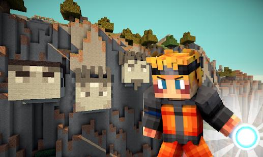 Mod Minecraft Naruto 0.16.0 screenshot