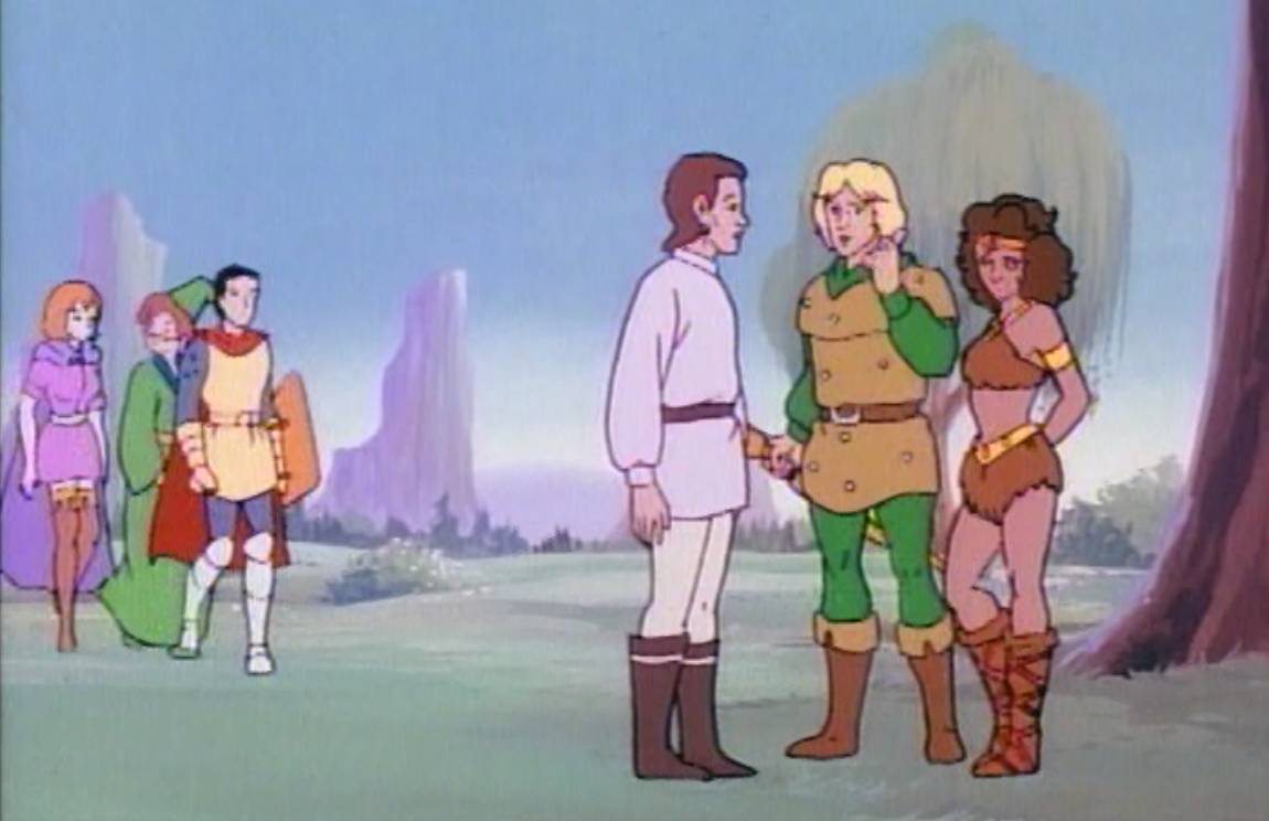 Hank and Diana chat with Kosar while the others look on