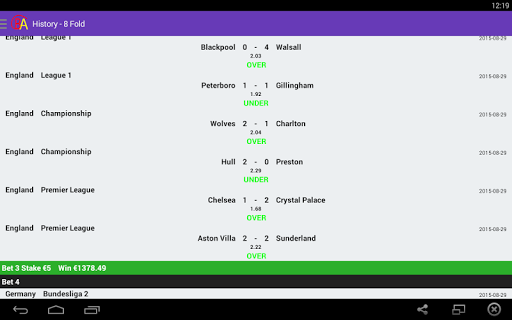 Soccer Predictions O U 2.5