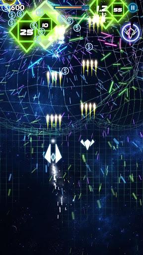 Neon War - Geometry Shooter  captures d'écran 2