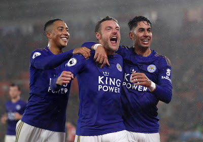 Tielemans et Vardy (centenaire) relancent Leicester, Manchester United régale à nouveau