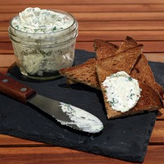Garlic and Herb Cream Cheese Spread.