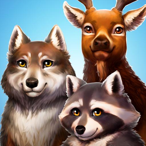 Pet World - WildLife America - animal game Icon