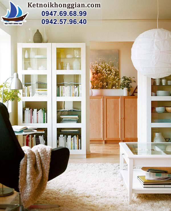 thiết kế phòng đọc sách gia đình sang trọng