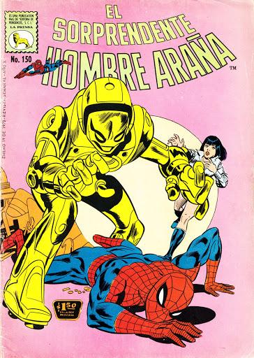 Forgotten Masterpiece: EL SORPRENDENTE HOMBRE ARANA #150 and AMAZING SPIDER-MAN #8