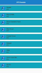 BTS Offline Karaoke screenshot