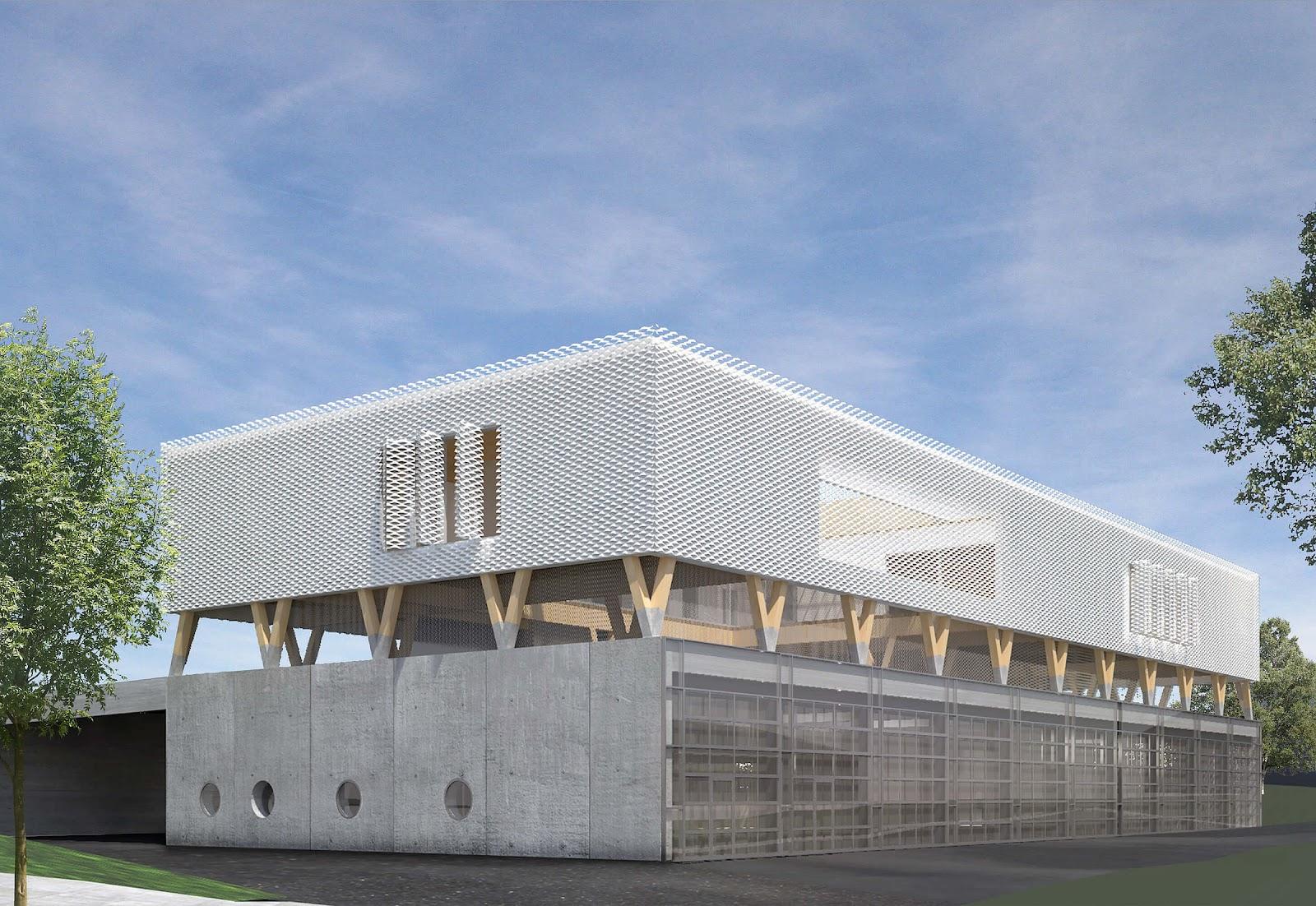 2019年3月動工的施特勞本哈爾特市消防大樓是一座可循環使用的建築物