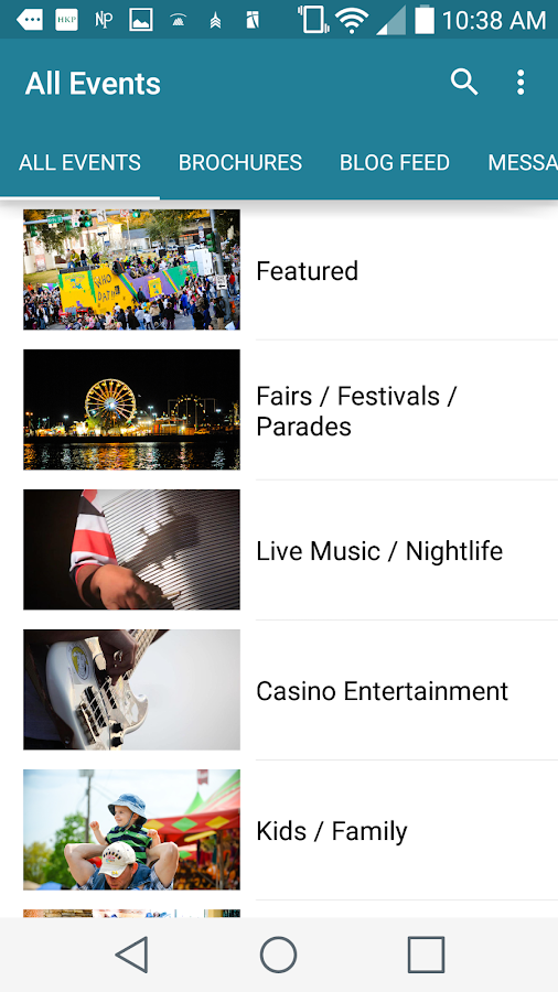 Lake Charles Events- screenshot